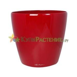 Кашпо с автополивом конусообразной формы. red
